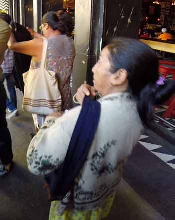 Guatemala city pickpockets