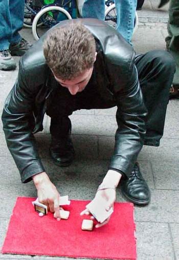A three-shell game in Copenhagen