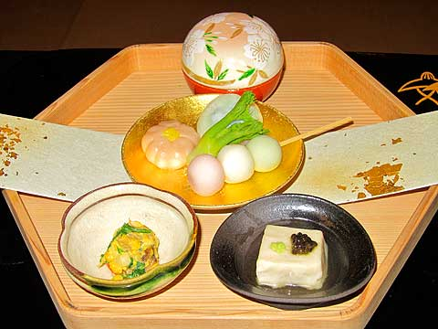 "Kaiseki understatement: ""Simple Meal"""
