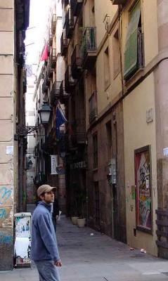 Barcelona alley