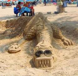Beach creature.