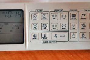 Bedside control - hotel oddity