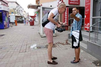 Romanian pickpockets in Romania