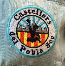 Castellers, the human towers, Castellers del Poble Sec logo