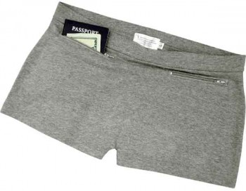 Clever Travel Companions women's pickpocket-proof underwear