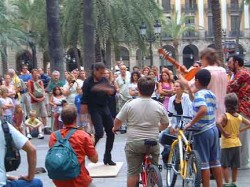 No more Flamenco on La Rambla.