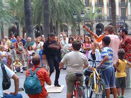 No more Flamenco on La Rambla.