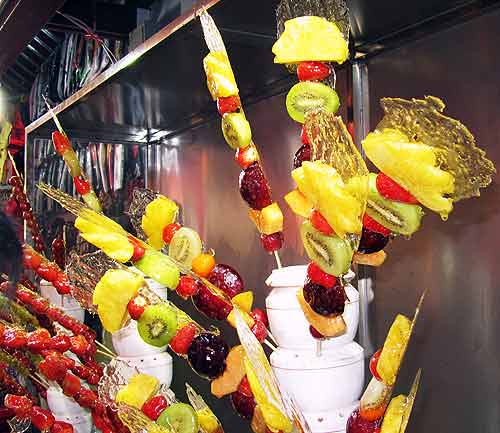 Beijing street food: Fruit sticks