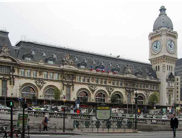 Gare de Lyon train station, Paris