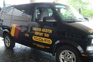 A Houston taxi-turned-home.