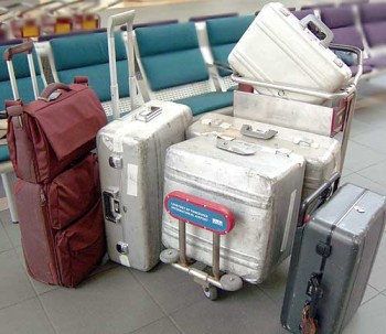 What are Airport baggage kickers?