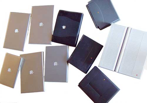 Mac laptops—through the ages.