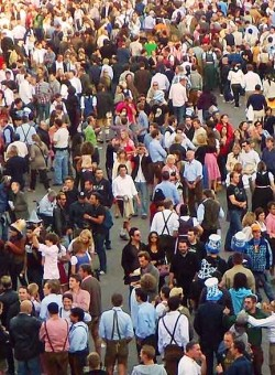 Pickpocket heaven at Oktoberfest