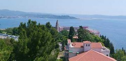 One view from Grand Hotel St. Bernardin in Portoroz, Slovenia