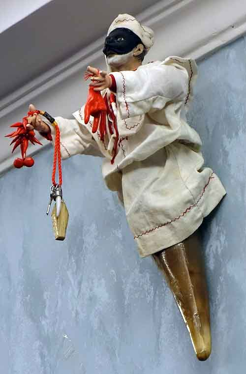 Pulcinella, symbol of Naples
