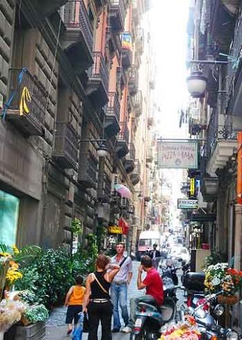 Camorra. Naples, Italy