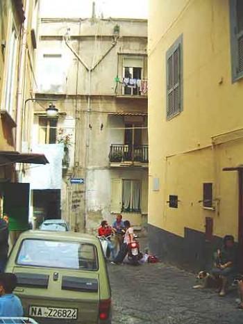 Camorra; Quartieri Spagnoli; Naples, Italy