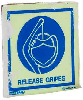 Release gripes
