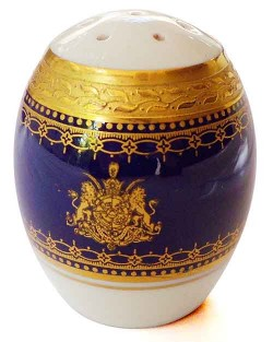 Salt shaker from the Shah of Iran