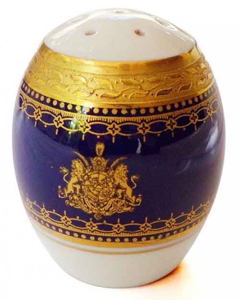 Iran: Salt shaker from the Shah of Iran
