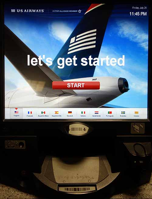 U.S.Airways terminal in airline seat scam