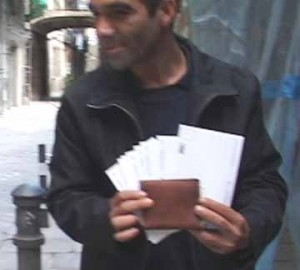 pickpocket technique