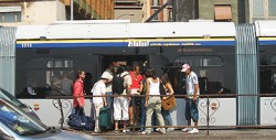 Pickpockets in cities love to work on buses and trams. Antennas up on public transportation and in tight crowds.